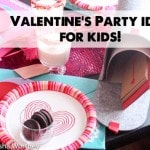 How To Make a Candied Rim Glass + Valentine's Day Party Idea for Kids