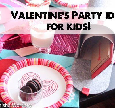 Here's an easy and budget-friendly Valentine's Day party idea for the classroom or kid-friendly party!