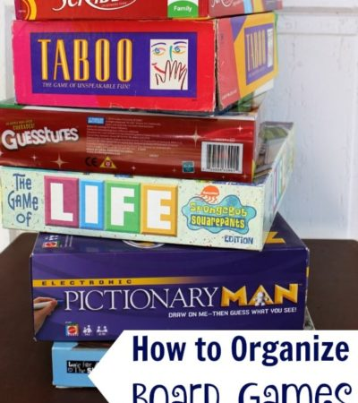 How to Organize Board Games- Board games aren't fun if they're missing pieces. Keep your board games organized and in good condition with these simple tips.