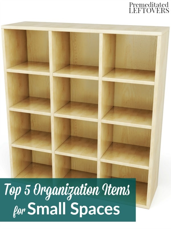Top 5 Organization Items for Small Spaces