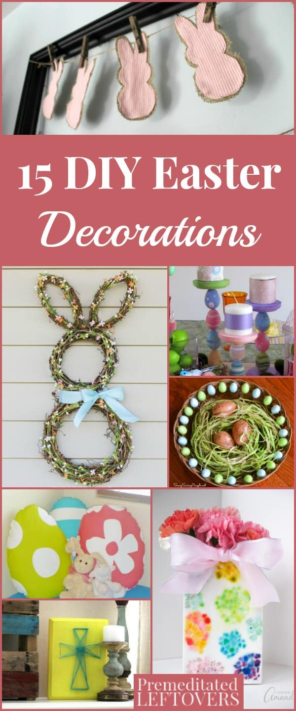 15 diy easter decorations for Diy easter room decor