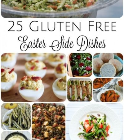 25 Gluten-Free Easter Side Dishes- Here is a long list of gluten-free side dishes to add to your Easter menu this year. These recipes look amazing!