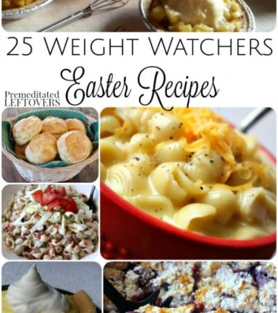 25 Weight Watchers Easter Recipes- Enjoy these Easter recipes without going over your Weight Watchers points. You'll find classic dishes and new favorites.