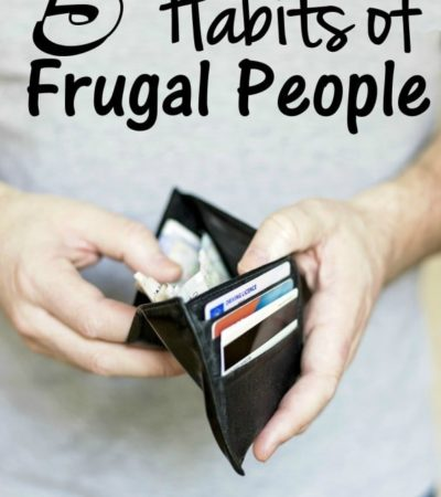 5 Habits of Frugal People- Here are 5 things that frugal people do on a regular basis. Adopt these habits to reduce debt and increase your savings.