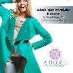 Adore your wardrobe
