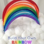 Build Your Own Rainbow Kit for Kids- Wouldn't it be fun to build your own rainbow? This rainbow craft is fun and easy to make, and there's no rain required!