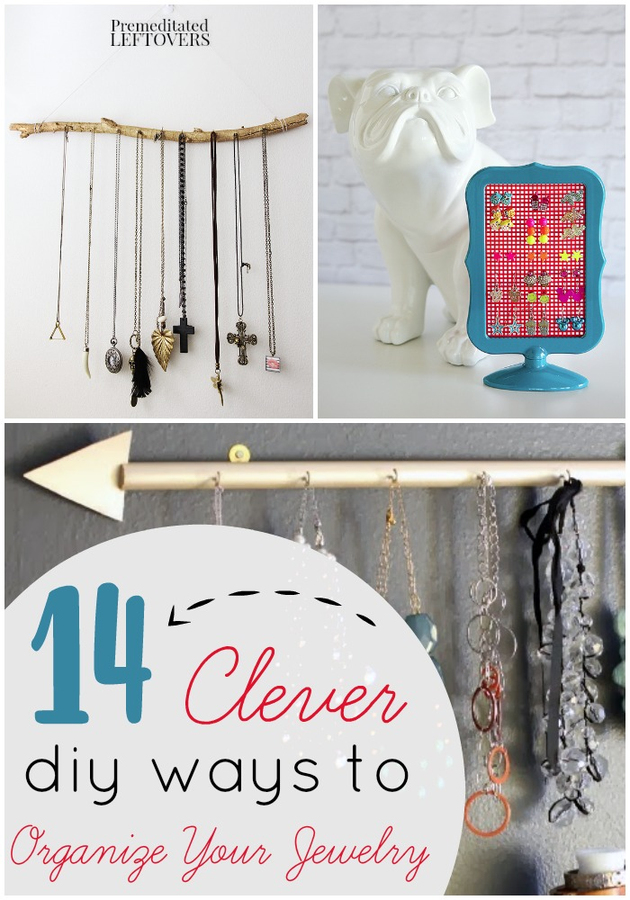 DIY Jewelry Organizers Tutorials