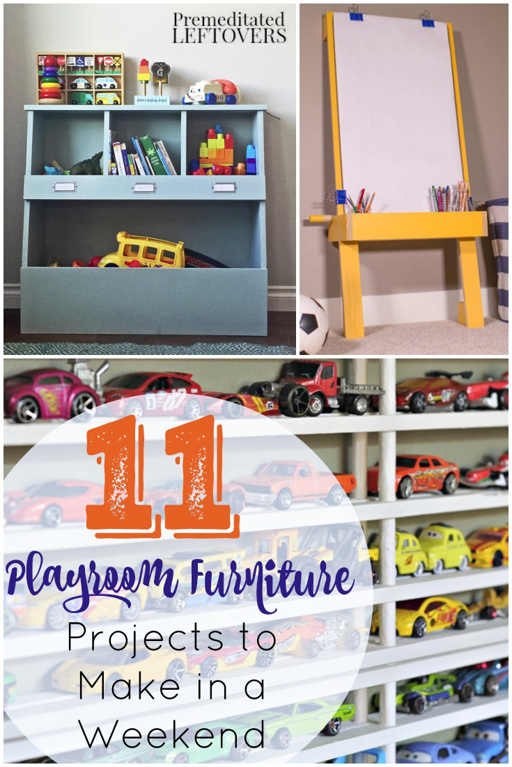 11 Diy Playroom Furniture Projects
