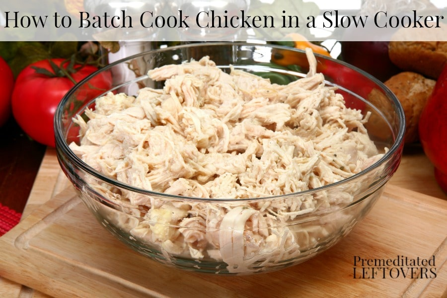 how to cook shredded chicken breast on stove