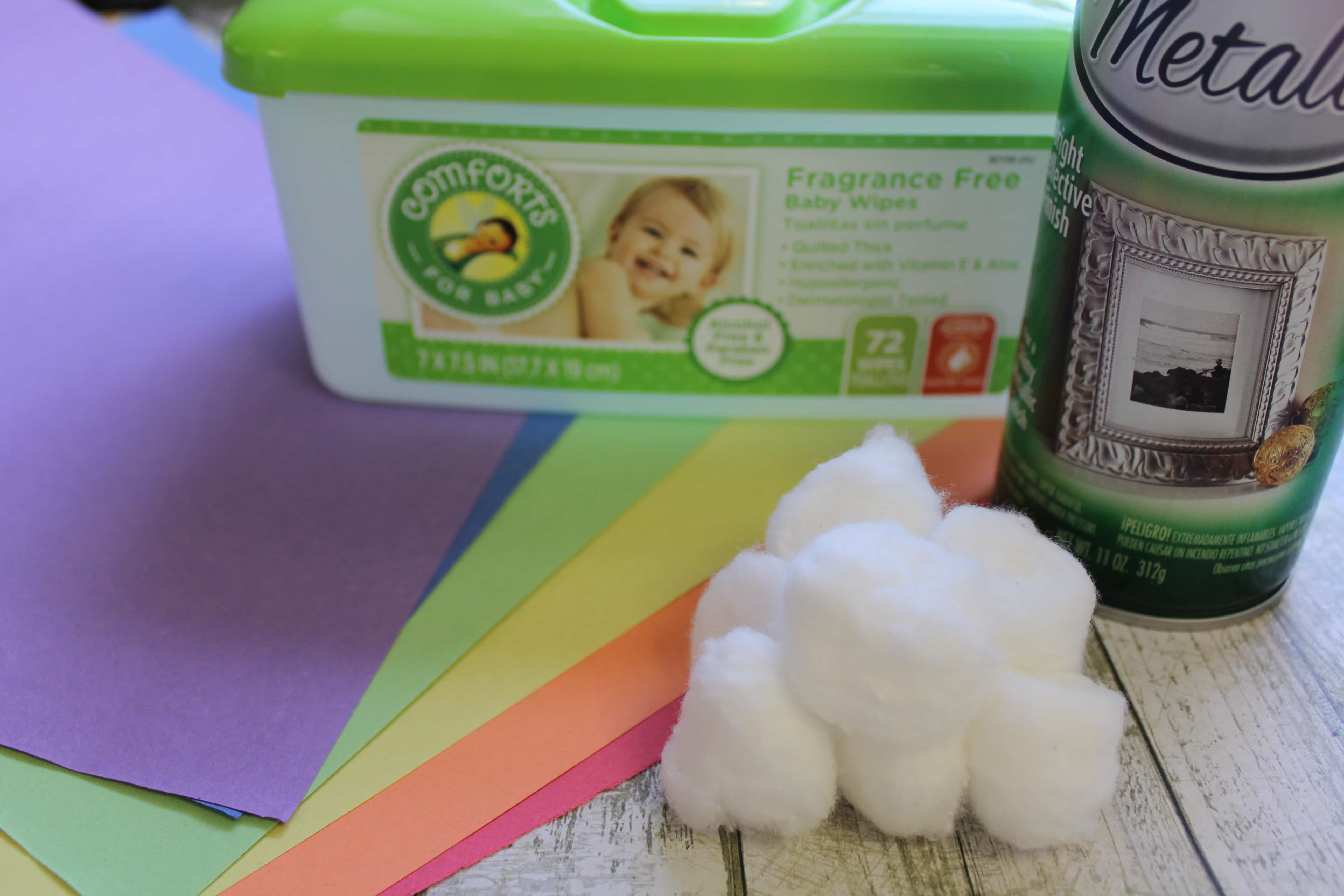 St. Patrick's Day Leprechaun Trap Craft for Kids materials