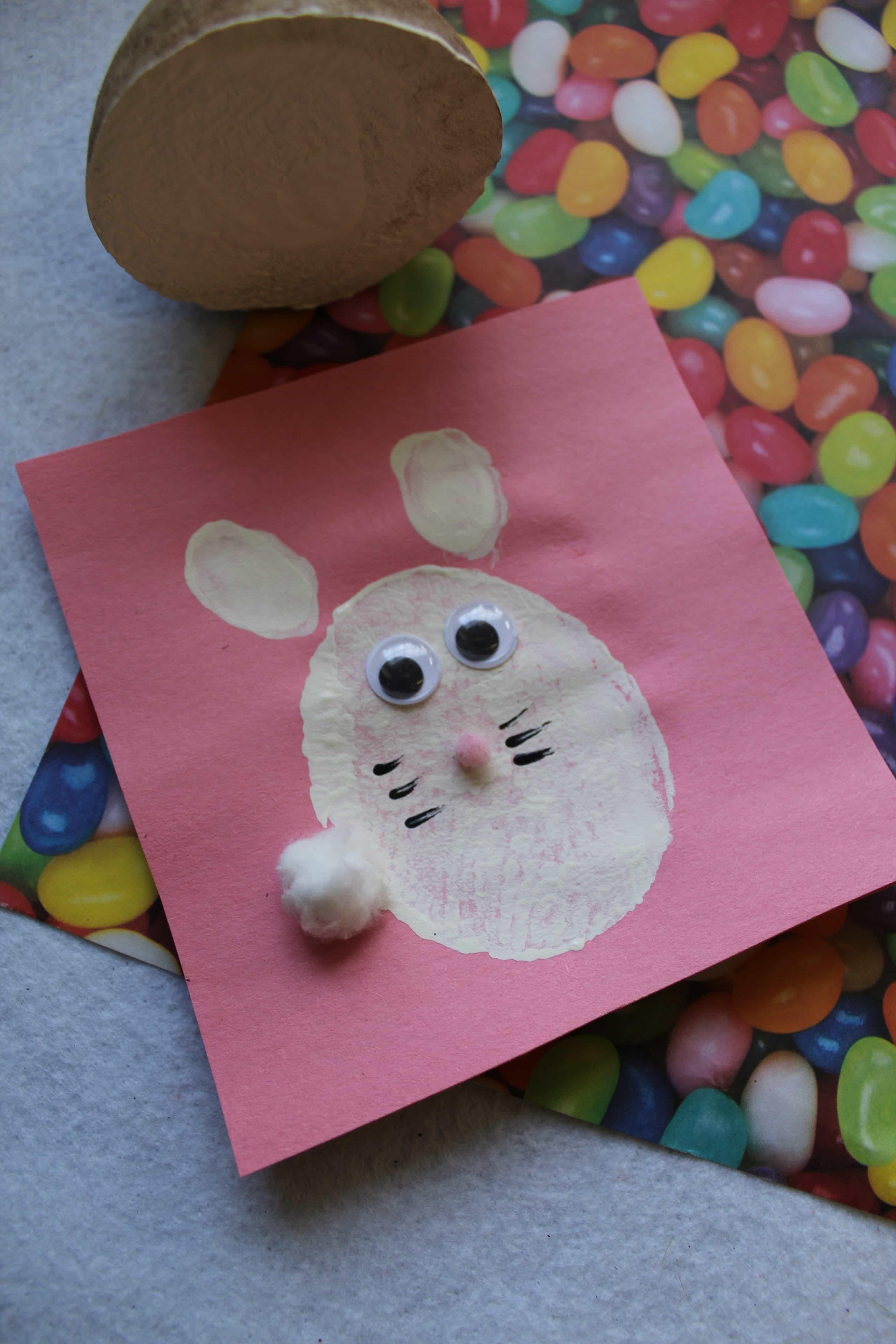 Handmade Bunny Stamps for Kdis