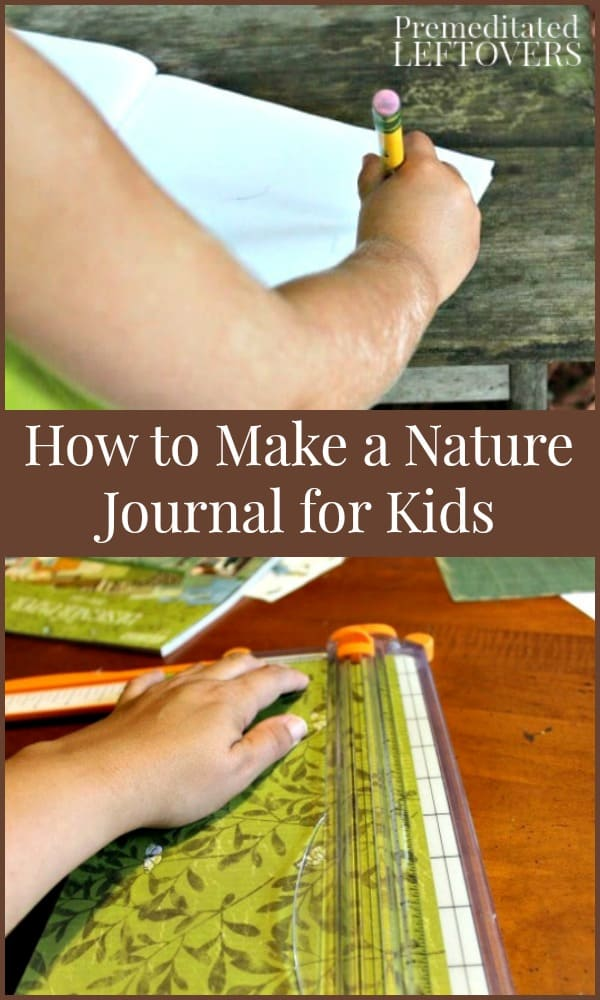 Making a nature journal
