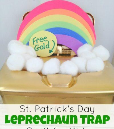 St. Patrick's Day Leprechaun Trap Craft for Kids