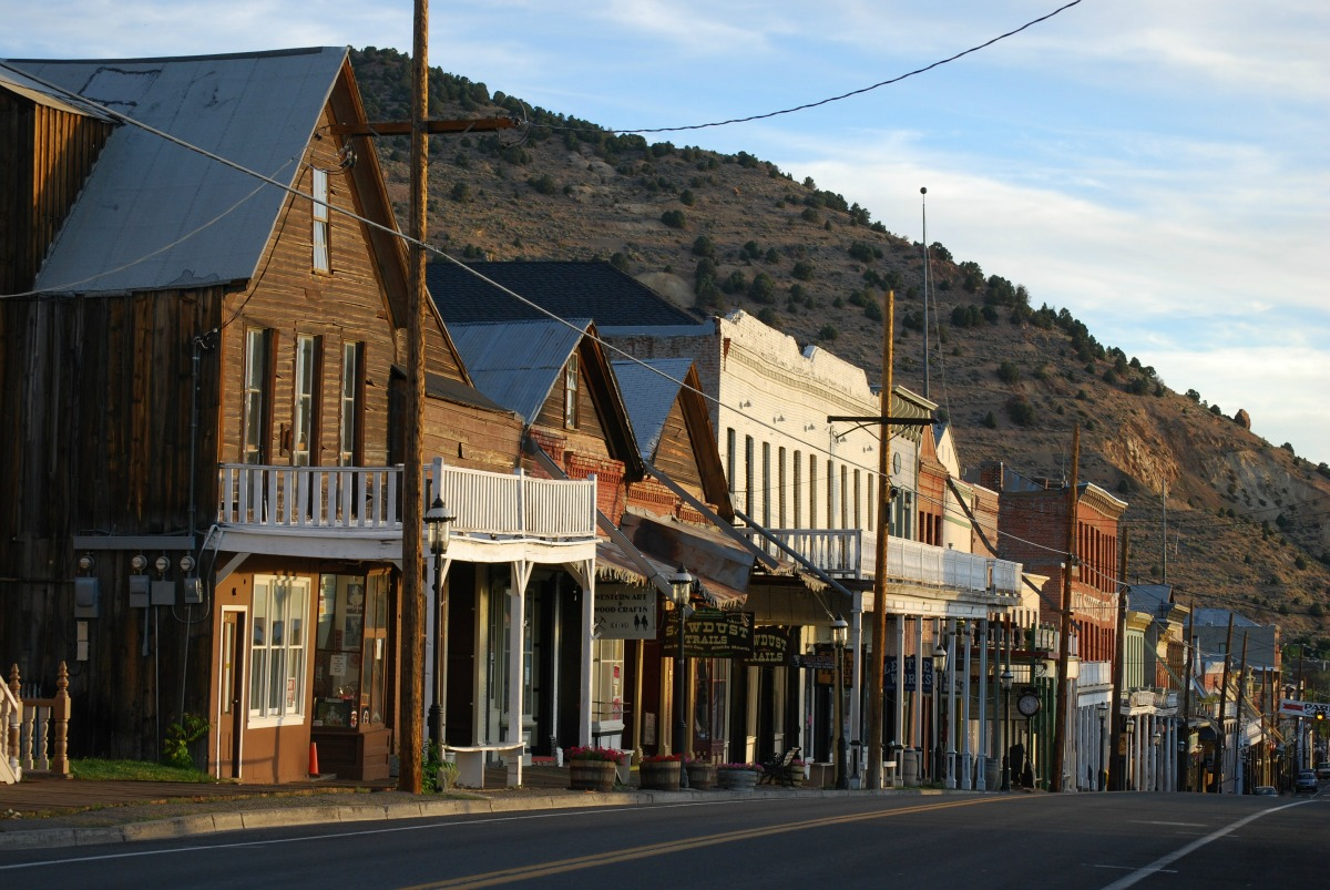 Nevada Historical Site: Virginia City- Find something for everyone in Virginia City. Ride the train, grab a treat, or visit the shops and historical sites!
