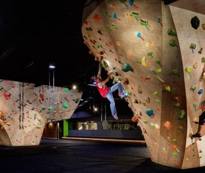 Whitney Peak Basecamp- Check out the world's tallest climbing wall and other athletic activities at the Whitney Peak BaseCamp.