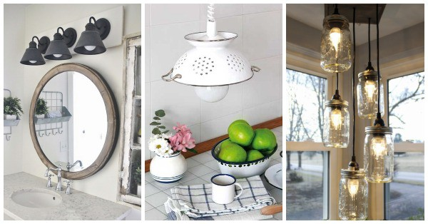 12 DIY Light Fixtures and Lamps Tutorials