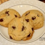 gluten-free chocolate chip cookies recipe using dairy-free Smart Balance Original Buttery Spread