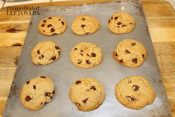 gluten-free dairy-free chocolate chip cookies recipes out of the oven
