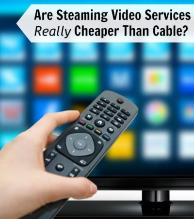 Are Streaming Video Services Really Cheaper Than Cable?- Can streaming video services really save you money? Here is a cost comparison compared to cable TV.