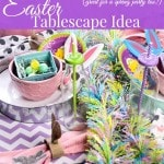 Pastel Easter Tablescape