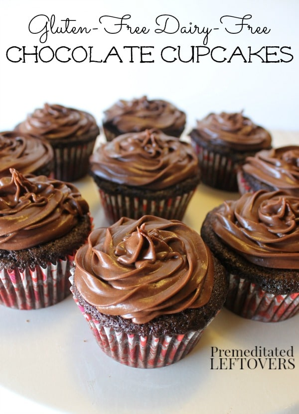 Gluten-Free Chocolate Cupcakes Recipe