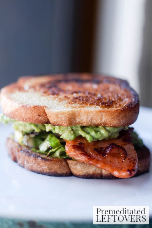 Salmon and Avocado Sandwich final
