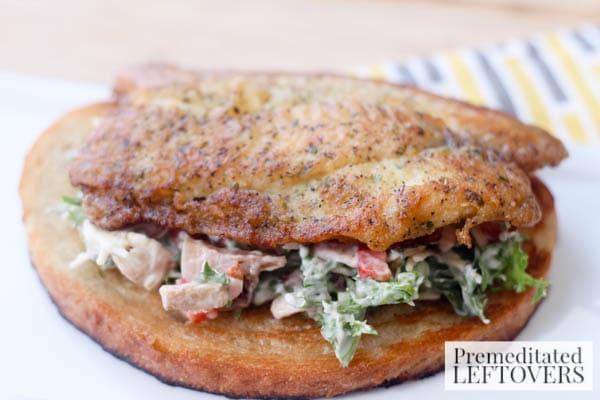 Tilapia Bruschetta Sandwich final