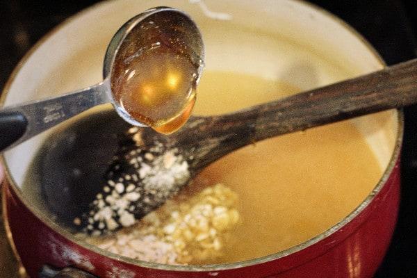 Oatmeal and Honey Moisturizing Bar Soap add honey