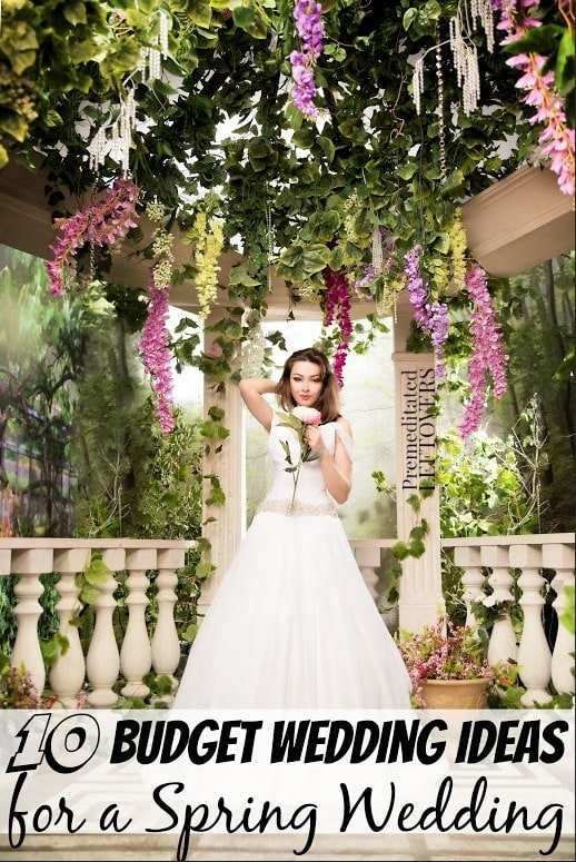 10 budget wedding ideas for a spring wedding 10 budget wedding ideas for a spring wedding a spring wedding can be done frugally junglespirit Choice Image