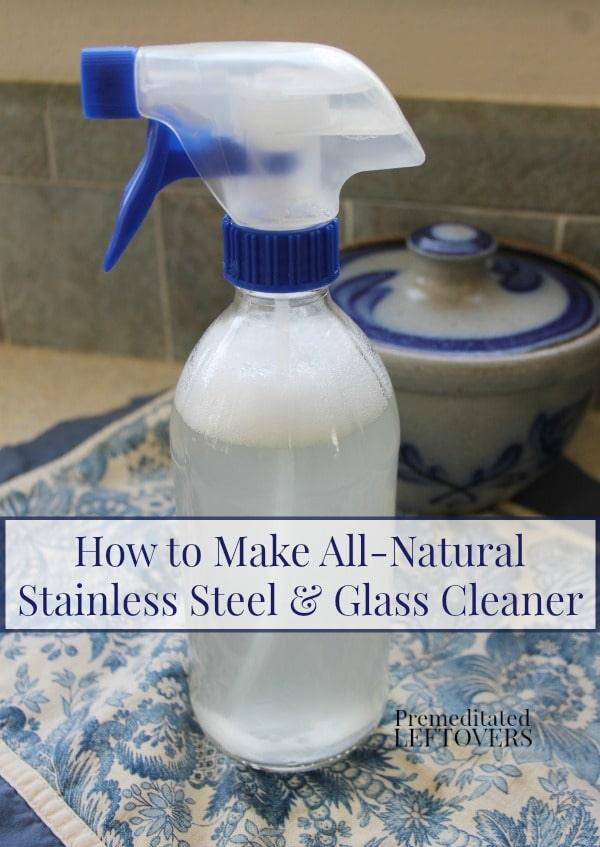 How To Make Your Own Natural Glass Cleaner