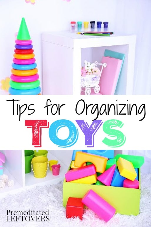 How to Organize Your Child's Toys