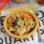 Quick and easy recipe for Southwest Ranch Tortellini Salad