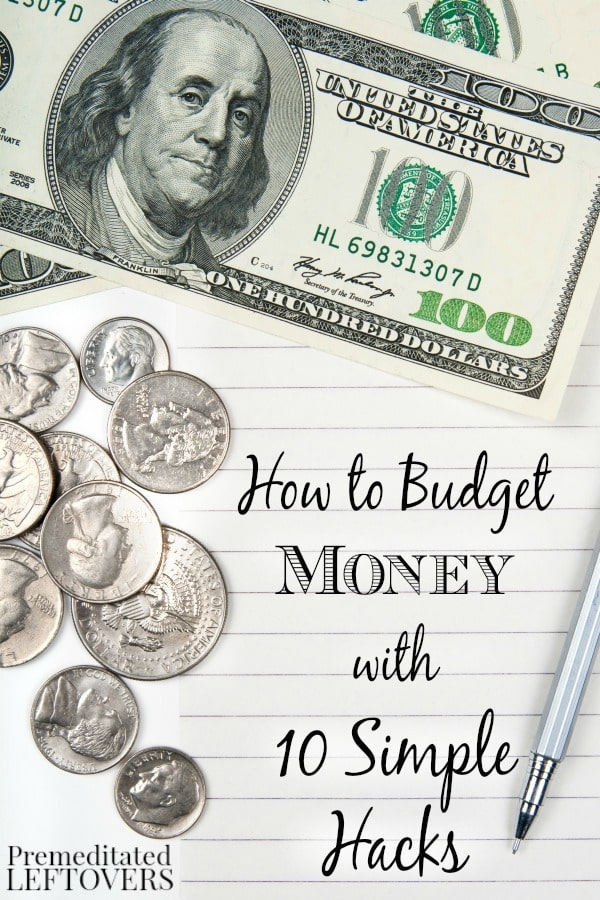 How to budget money with 10 simple hacks for Minimalist living money