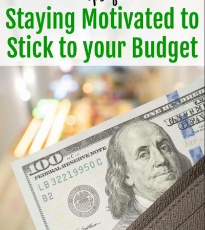 5 Tips for Staying Motivated to Stick to Your Budget- Tired of budgeting every month? Here are 7 ways to stay motivated and focused on your financial goals.