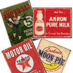 10 Vintage Metal Signs to Make You Feel Nostalgic