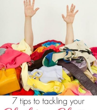 7 Tips for Organizing Clothing Clutter- Is your closet bursting at the seams? Check out these efficient ways to organize and declutter your clothes.