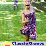 7 Classic Games to Play Outside this Summer- Summer calls for simple, old fashion fun. Head outdoors and enjoy these classic games for kids!