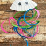 Coffee Filter Jellyfish Craft for Kids