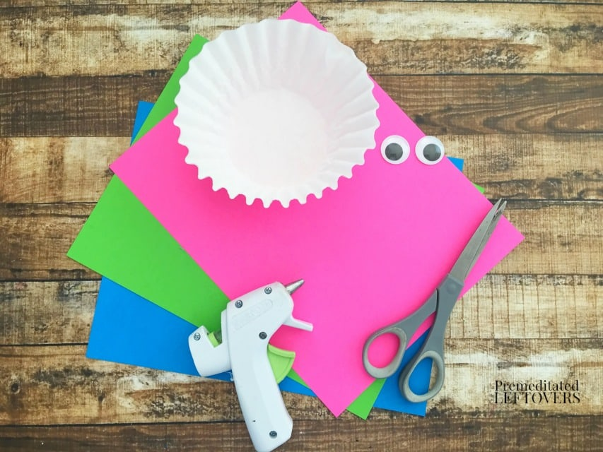 Coffee Filter Jellyfish Craft - Supplies