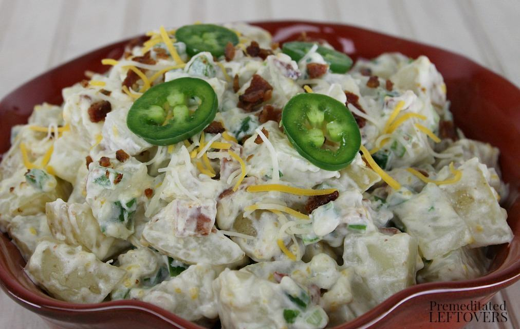Jalapeno Popper Dip Potato Salad Recipe