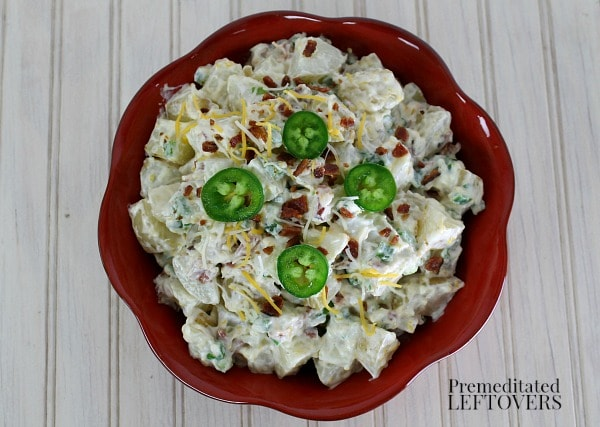 Jalapeno Popper Potato Salad Recipe