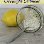 Lemon Poppy Seed Overnight Oatmeal