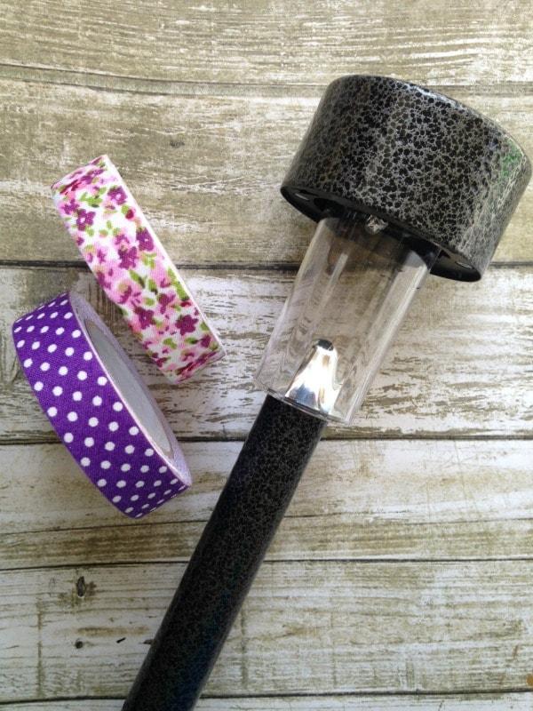 Solar Nightlight Craft for Kids materials