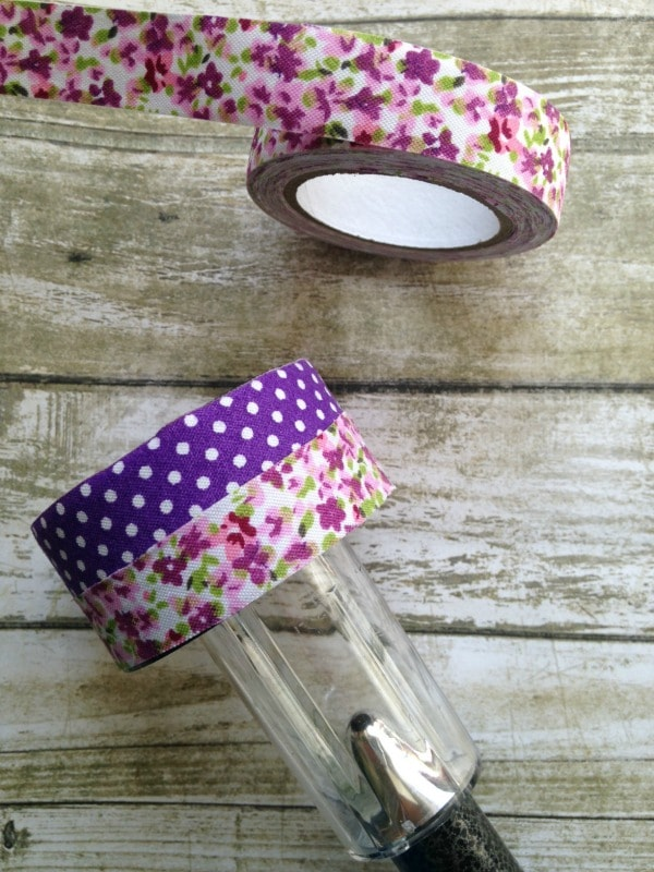 Solar Nightlight Craft for Kids washi tape