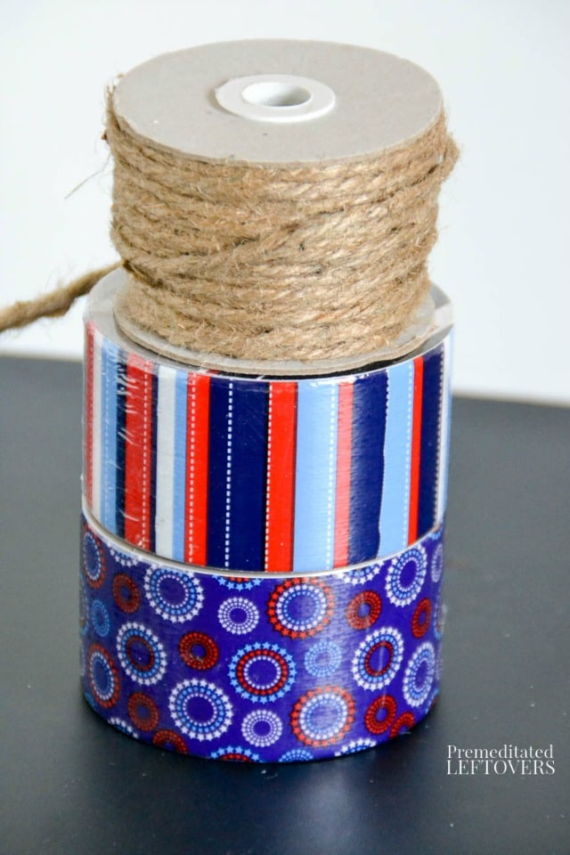 Patriotic Duct Tape Banner supplies