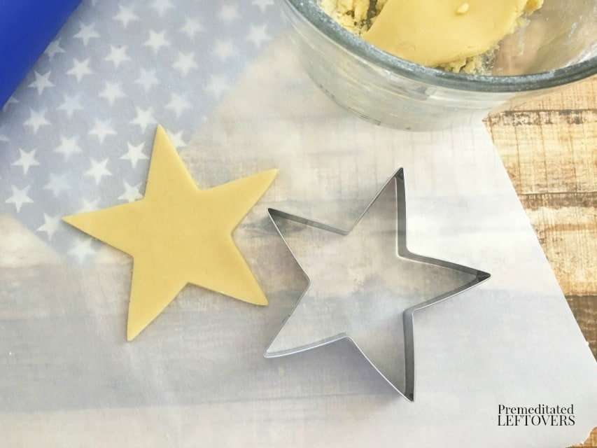 Patriotic Star Cookies - cookie cutter