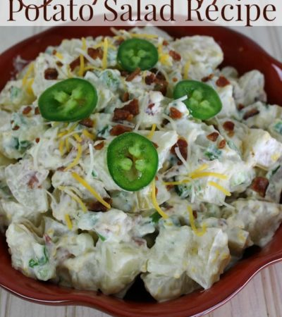 Quick and Easy Jalapeno Popper Salad Recipe