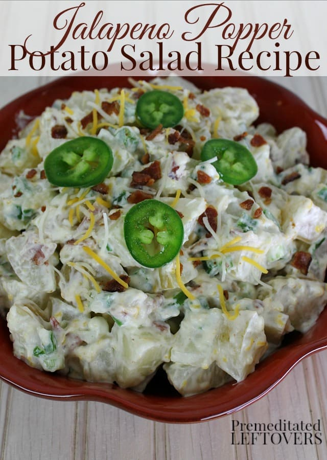 Jalapeno popper potato salad recipe an easy make ahead potato salad this jalapeno popper potato salad recipe is made with jalapeno peppers cream cheese and forumfinder Images