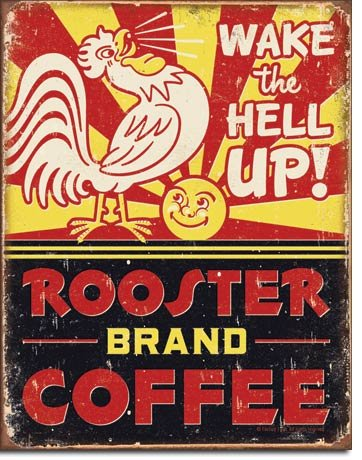 Vintage Metal Signs to Make You Feel Nostalgic- rooster