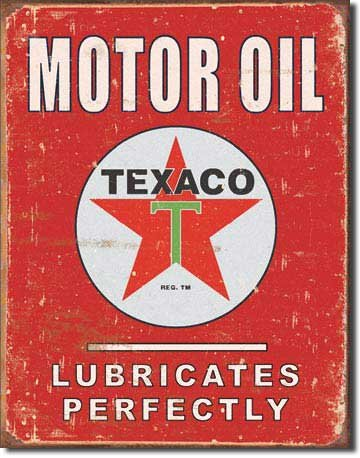 Vintage Metal Signs to Make You Feel Nostalgic-texaco